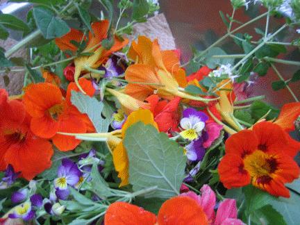 Plato de flores