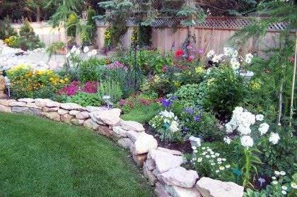 jardín lindo