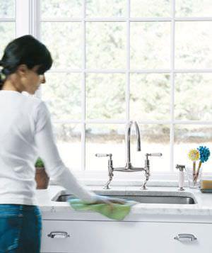 La Mejor Manera De Limpiar Fregaderos Ycomo - Fregaderos-de-porcelana-para-cocina