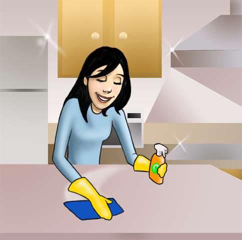 Consejos para limpiar la cocina ycomo for Limpiar azulejos de la cocina