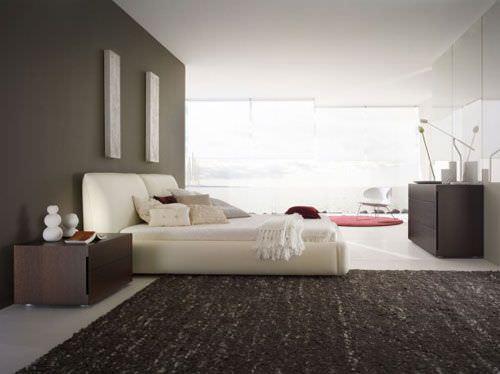 habitación en gris
