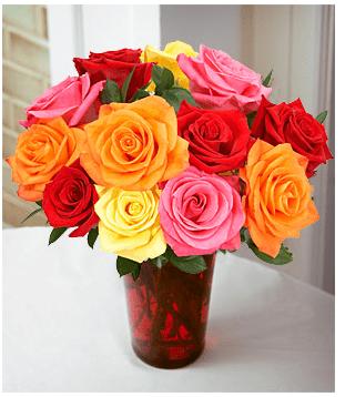 como hacer un arreglo floral de rosas