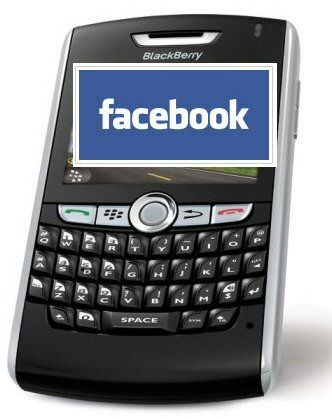 blackberry con facebook