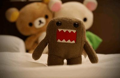 muñequito enojado