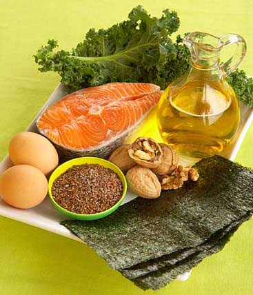 Fuentes dieteticas y beneficios de los acidos grasos Omega 3