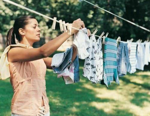 Consejos para limpiar la ropa de algodon