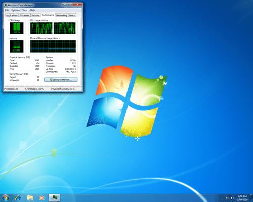 Como iniciar una aplicacion asignada a una CPU especifica en Windows 7 8 o Vista