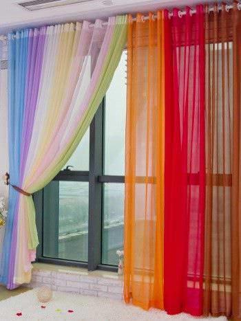 C mo elegir el color de las cortinas ycomo - Como elegir cortinas ...