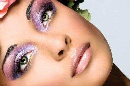Como usar sombra en los ojos verdes