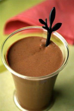 Batido de Chocolate y Aguacate