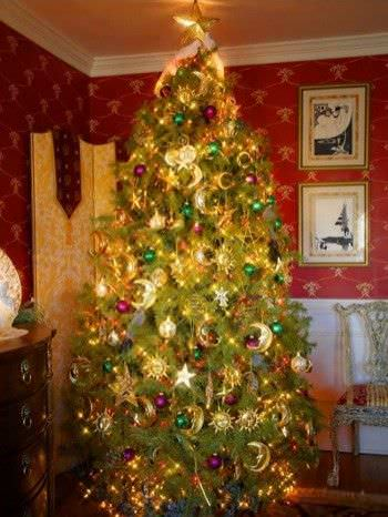 15 Christmas Tree Decorating Ideas8