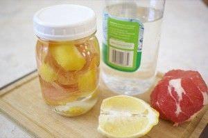 3 Limpiadores Esenciales Hechos en Casa para que su Cocina Brille3