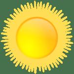 El sol es una de las mejores fuentes de vitamina D.